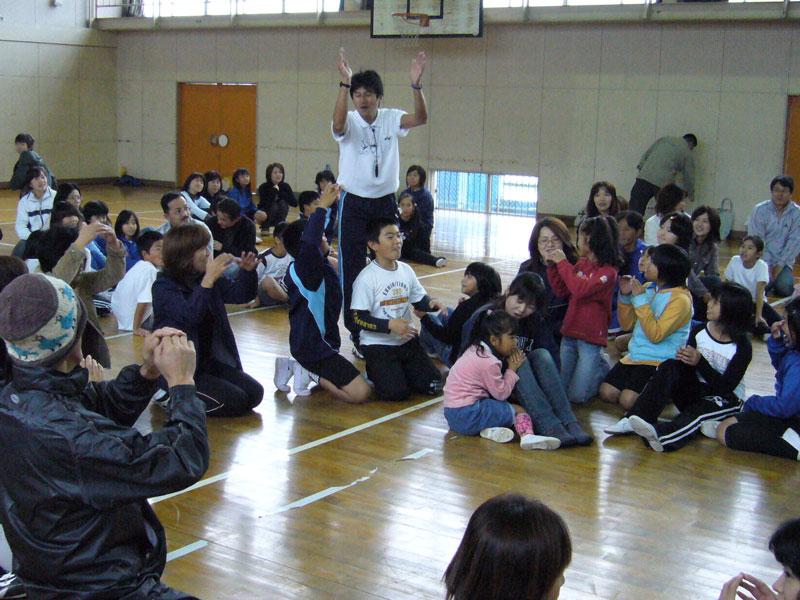 富岡小4年生親子行事3