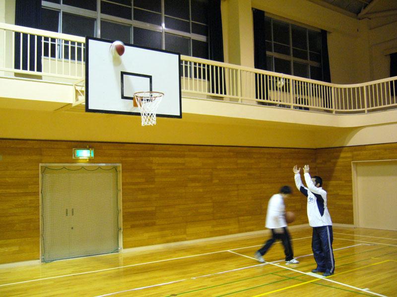 バスケット練習