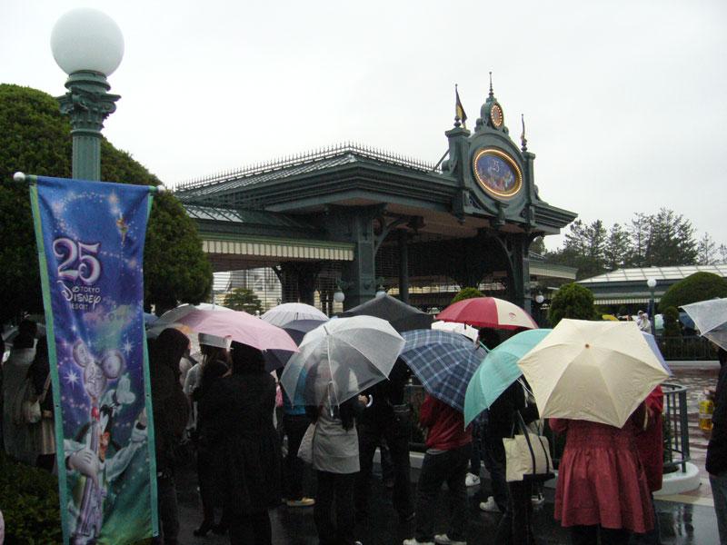 雨のゲート